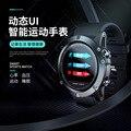 Зарубежные производители  продающие bluetooth Смарт-часы с частотой сердечных сокращений  популярные круглые цветные часы на долгий срок служб...