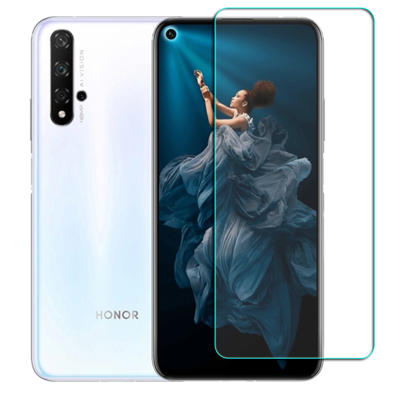 For Huawei Honor View <font><b>30</b></font> 20 <font><b>10</b></font> Pro Glass Screen Protective Tempered Glass Honor 30S 10i Lite 10LITE Protector Cover Film image