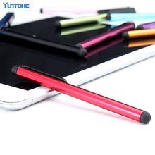 Atacado 1000 pçs/lote Universal Capacitive Stylus Pen para Iphone11 pro max XR 8 6 7 5 Caneta de Toque para o Telefone Celular Para Tablet