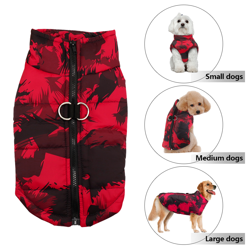 Waterproof Dog Jacket for Small/Medium/Large Dogs as Winter Clothing 3
