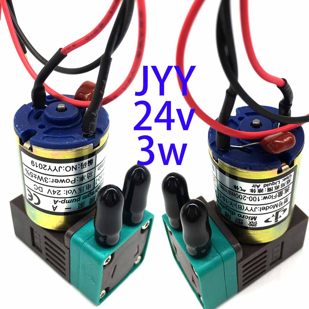 Inkjet Printer Spare Parts Solvent Printer Pump 3W 24V DC JYY 100ml-200ml Small JYY Ink Pump