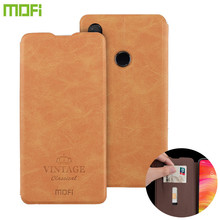 MOFI For Xiaomi Redmi Note 7 8 Pro 8A Original Flip PU Leather Case For Redmi 8a Card Wallet Book Flip Stand Soft TPU Cover Case