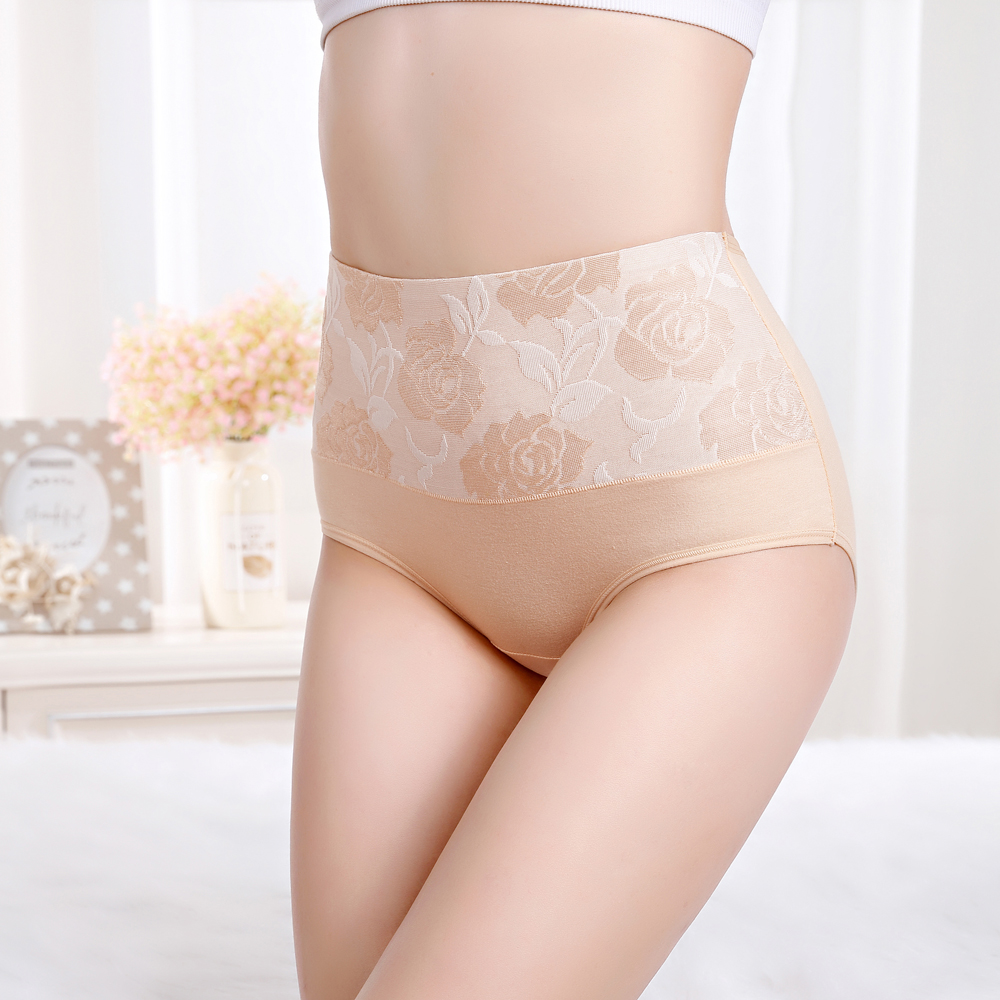 Panties Women Plus Size Cotton Women's soft Underwear High Waist Briefs Underpant  for Girls  and Ladies New arrived