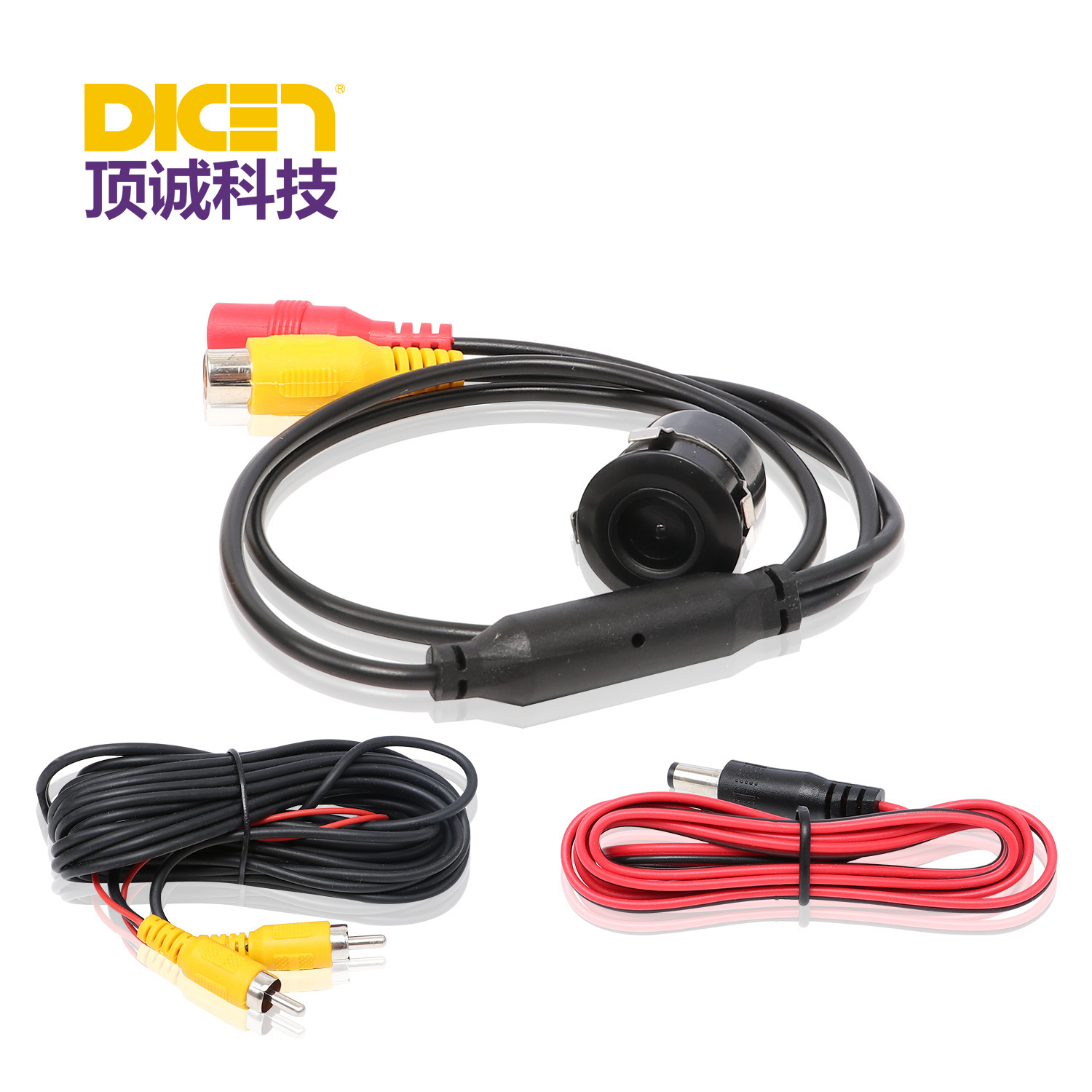 Car Infrared High-definition Camera Reversing Video Night Vision Rear View Universal Waterproof Outside China Warehouse Distribu