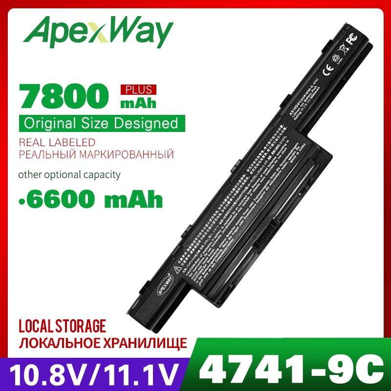 9 Cell Laptop Battery For Acer Aspire 5253G 5251 5252 5253 5333 5336 5349 5350 5551 5551G 5552 5552G 5560 5560G 5733 5733Z 5736