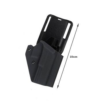 TMC Kydex Pistol Holster G17 G19 P1 Paddle & Belt Loop Holster For Glock(SKU051384)