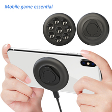 High quality Suction cup Wireless Charger Wireless Charging Design For Gaming built-in Cable For iPhone X Xs Max XR Samsung
