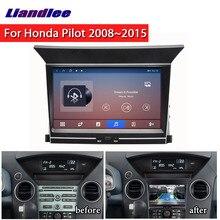 Lecteur multimédia DVD et Radio pour Honda Pilot 2008 ~ 2015, système de Navigation avec carte GPS, Carplay, Android, vidéo, Audio stéréo, 2 Din