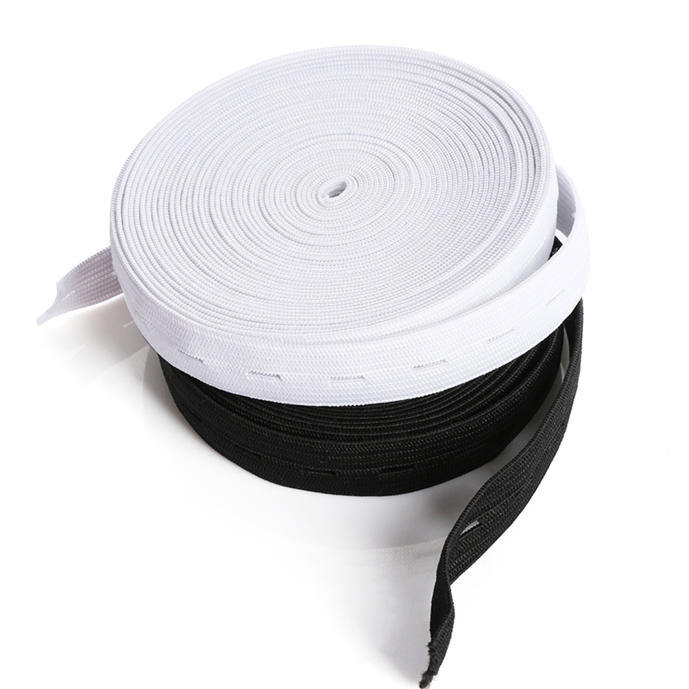 """2.5/"""" for Crafts DIY Sewing Supplies By The Yard White Woven Elastic 1/"""""""