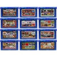 Cartouche de jeu vidéo 32 bits carte Console pour Nintendo GBA Compilations Collection EG série Version en langue anglaise
