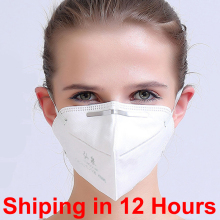 FAST SHIPPING 10 pcs 6 layers KN95 (same to FFP2 or N95 masks) folding face masks for Health isolation