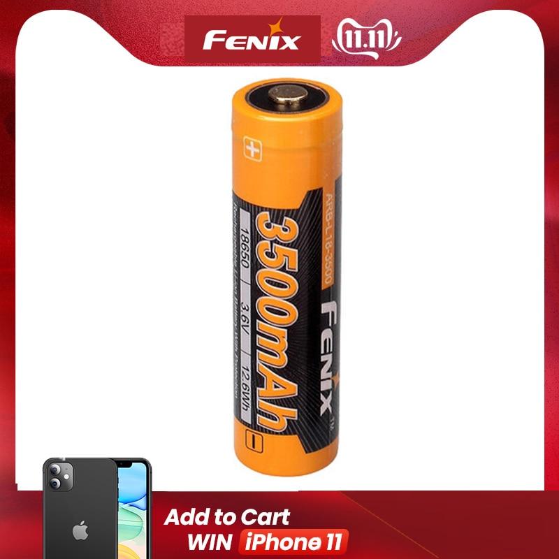 Fenix ARB-L18-3500 3500mAh 18650 batteria ricaricabile Li-Ion