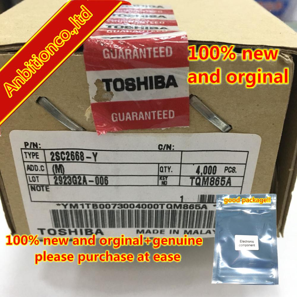 20pcs  100% New And Orginal  2SC2668-Y C2668Y TO-92S NPN Plastic-Encapsulated Transistor  In Stock