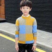 Inverno roupas para crianças roupas para crianças roupas de inverno algodão manter quente meninos camisola pulôver camisola roupas para meninos