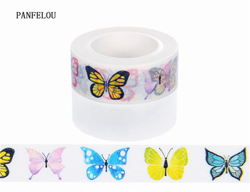 10M*10mm pattern of butterfly Washi Masking tape Quality good price HOT sell  DIY Scrapbook Embellishments Decoration