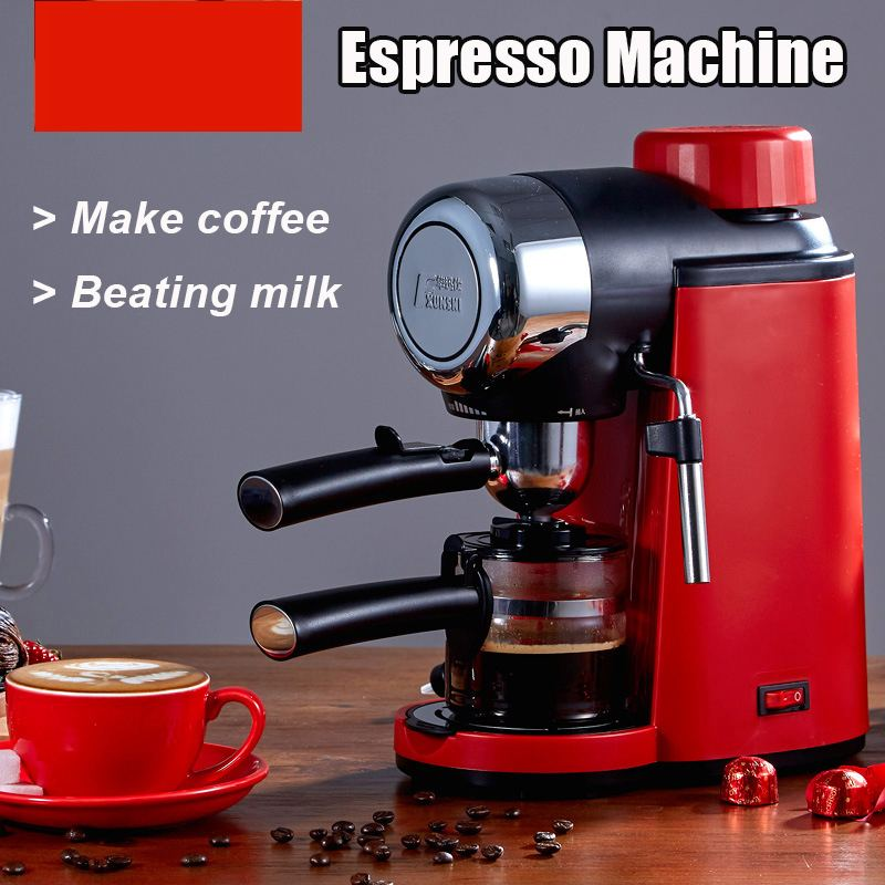 MD-2005 0.24L 800W Semi-automatic Espresso 5 Bar Pressure Steam Milk Bubble Maker Coffee Machine Electric Milk Frother