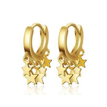 Γυναικεία σκουλαρίκια fashion star 925