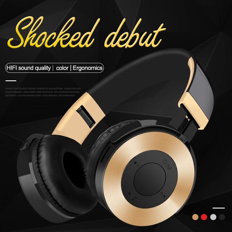 LVcards B HIFI Earphone Bluetooth Headphone Stereo Music Headset Sport Portable Headphones With Earphones For PC/Phones