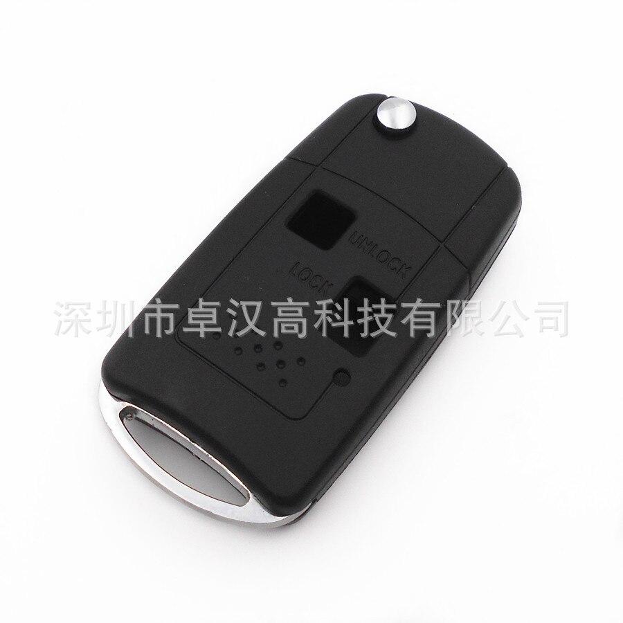 For Toyota Land Cruiser / Prado Instead of Original Factory Auto Car Key KETO New 2 Buttons Change Car Key Shell