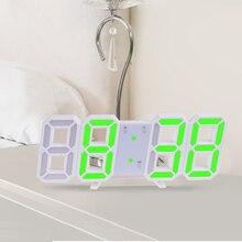 Anpro 3d Large Led Digital Wall Clock Date Time Celsius Nightlight Display Table Desktop Clocks Alarm From Living Room