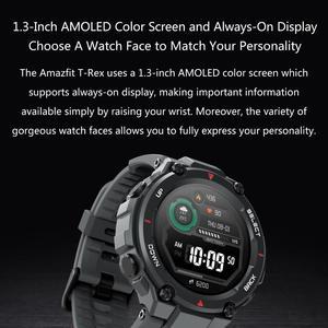 Image 5 - Versione globale Amazfit t rex Smart watch 20 giorni di durata della batteria GPS 14 modalità Sport Smartwatch impermeabile per Android iOS