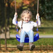 PE Plastic Kids Outdoor Indoor Garden Swing Seat with Adjustable Rope Kids Tree Swing Seat Outdoor Indoor Funny Sport columpios cheap CN(Origin) 4-6y 7-12y