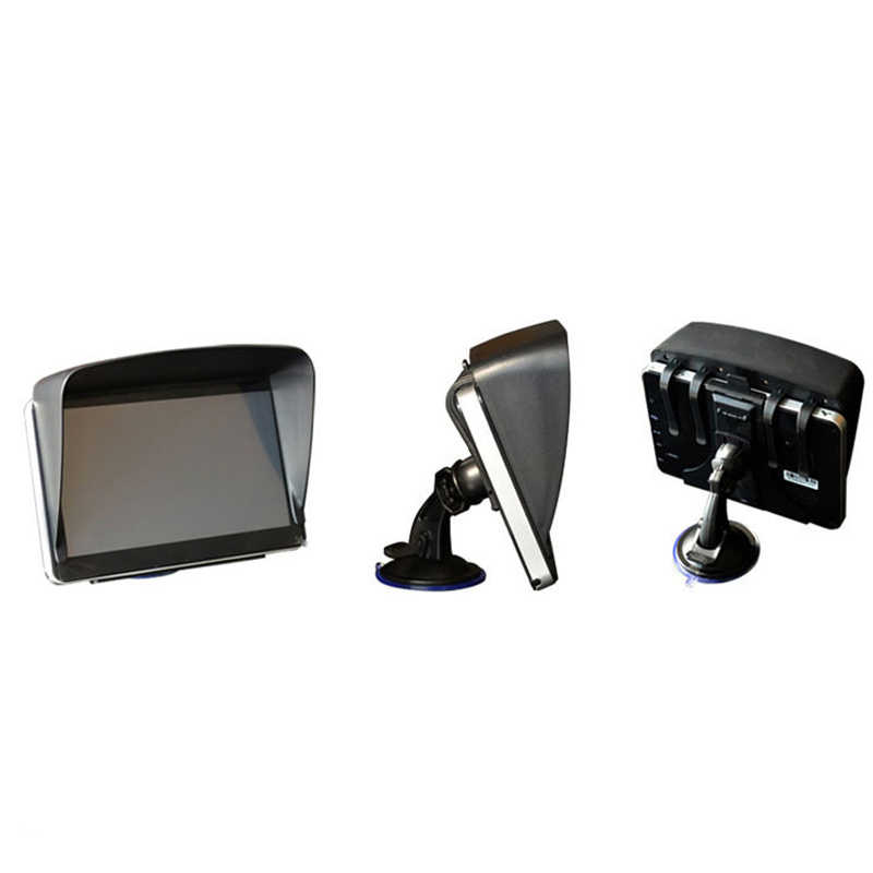 7 pulgadas de navegación GPS para coche parasol Anti accesorios de protección solar Gps sunshine paraguas navegador envío gratis