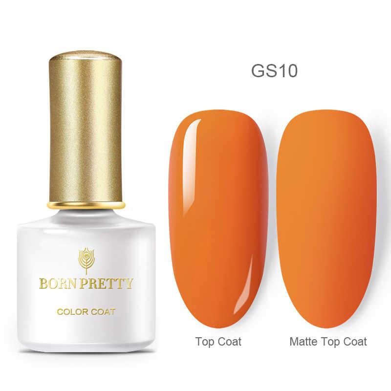 BORN PRETTY otoño serie de colores básicos esmalte de uñas de Gel puro esmalte de uñas con Gel magnético remojo de esmalte de uñas en Gel artístico