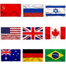 National flag 90*150CM Flag Polyester Banner Indoor Outdoor Banner  Decorative flag Garden party flag