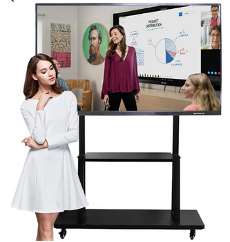 75 inch Electronic teaching digital presentation boards interactive lcd touch screen monitor smart tv whiteboard 1