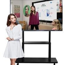75 Inch Elektronische Onderwijs Digitale Presentatie Boards Interactieve Lcd Touch Screen Monitor Smart Tv Whiteboard