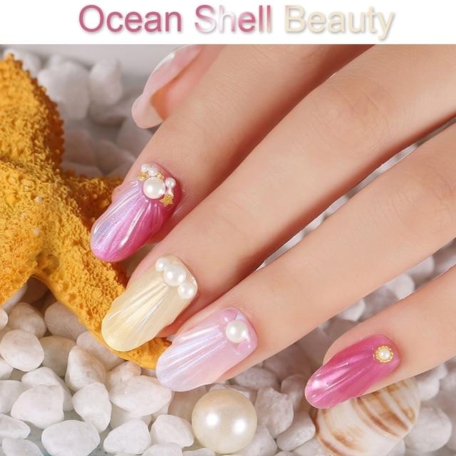 Elite99 10ml Shell Perle UV Gel Nagellack Soak Off Primer Für Nägel Gel Lack Meerjungfrau Semi Permanent Nagel polnischen Gellak