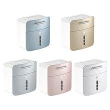 Rack Tissue-Box Bathroom Shelf-Holder Toilet-Napkin Roll-Paper-Dispenser Wall-Mounted