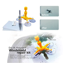 Windshield Repair Kit Quick Fix Car Cracked Glass Windscreen Tool  Resin Sealer DIY CCC