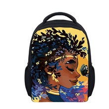 Scool Bag Girl Cute Afro Toddler Backpack Kids Cartoon Mini Travel for Baby 1-6 Years Gifts school bag