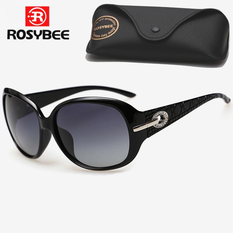 ROSYBEE Luxury Brand Design Polarized Sunglasses Women Ladies Fashion Gradient Polaroid Sun Glasses Female Eyewear Oculos