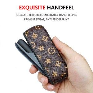 Image 5 - 보호 E 담배 휴대용 홀더 iqos 3 3.0 럭셔리 비즈니스 가죽 커버 사랑 좋은 handfeeling