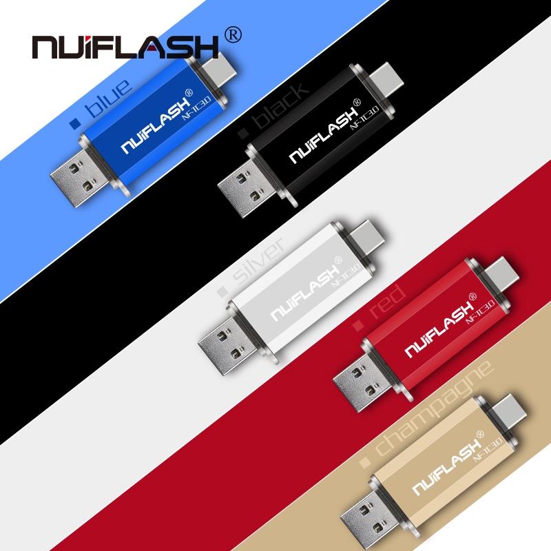 Флеш-накопитель usb Type-C OTG micro usb 3,0 объемом 128 ГБ, 64 ГБ, 32 ГБ, 16 ГБ, Флешка 2 в i с высокой передачей, флешка 64 ГБ, usb 3,0