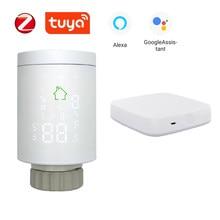 Actionneur de radiateur Tuya App Zigbee vanne de contrôle de température de radiateur thermostatique