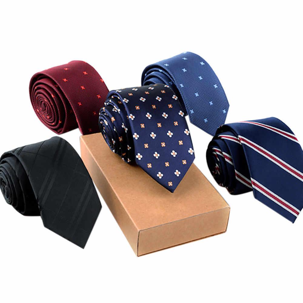Affaires solide maigre cou fête mariage cravate cravate Vijfpuntige ster célébrité fête mince plaine hommes cravates Heren stropdas