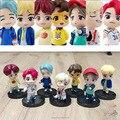 Bangtan Boy ПВХ фигурки героев модели KPOP Star TOP Group A.R.M.Y Idol коллекционные куклы детские игрушки подарок на день рождения 7 шт./компл.