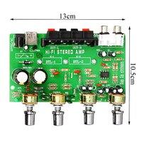 diy car TDA7056 Power Amplifier Board 2*25W 2.0 Channel Stereo Digital Audio DIY Amplifiers USB Charging DC 12V-15V For Car Home Theater (2)
