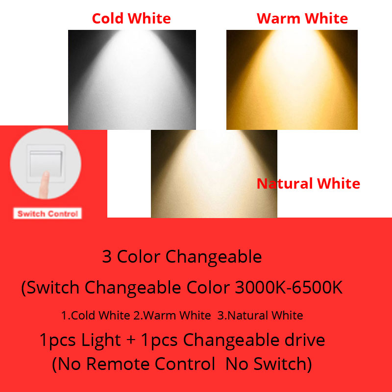 3 Color Changeable