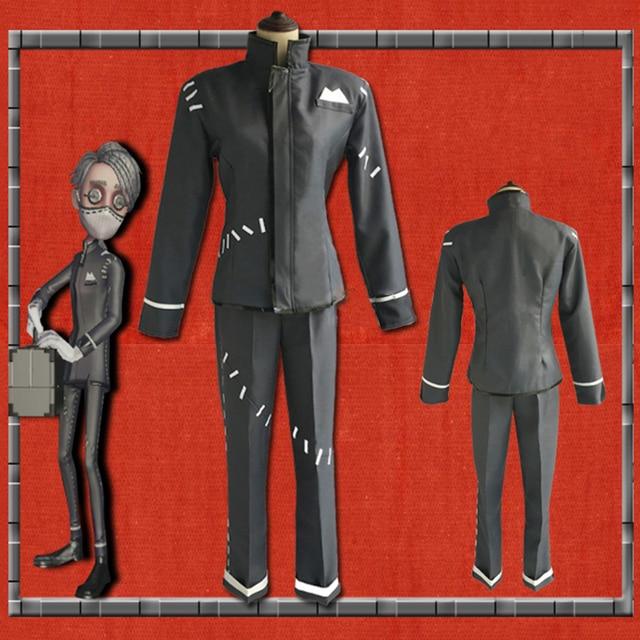 Jeu identité V Cosplay costumes survivant embaumeur Aesop Carl Cosplay Costume Original peau fête Anime Cosplay Costume tenues