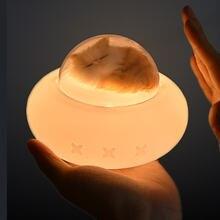 Pet космический корабль силиконовая лампа Перезаряжаемые led