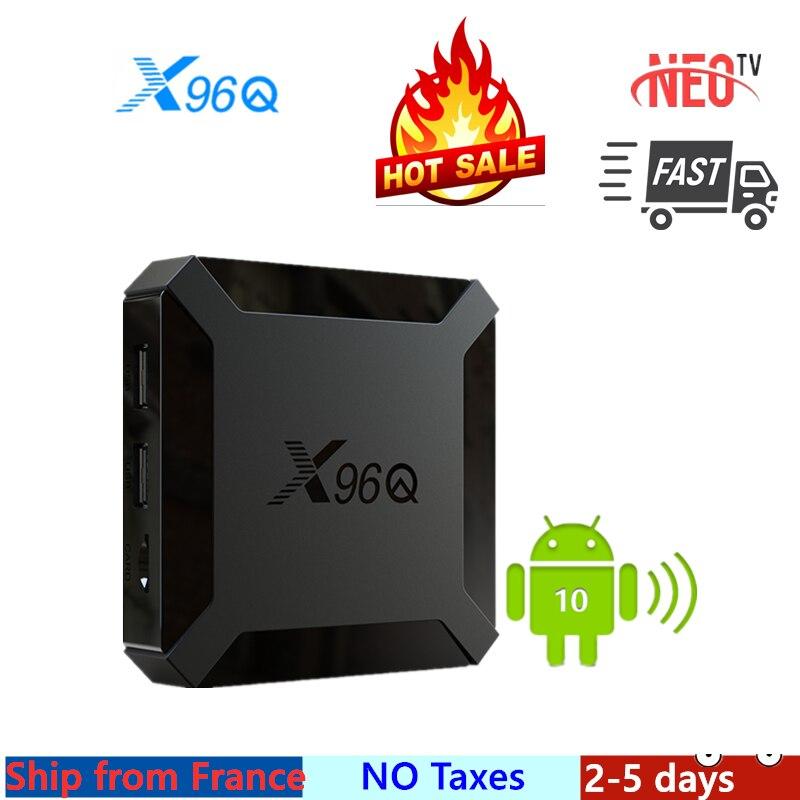 Лучшая ТВ-приставка neo x ip x96Q android tv box 10 neo tv pro 1 ГБ 8 ГБ 2 Гб 16 Гб neo x x96 smart ip tv set top box