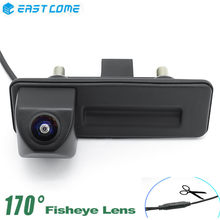 1080P Car Rear View Camera Trunk Handle Reverse Camera Night Vision For Volkswagen Skoda Fabia Octavia Yeti RoomsterAudi A1 A3
