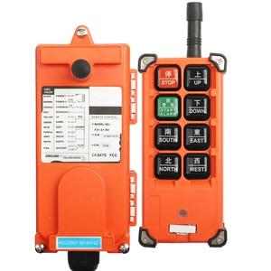 Image 3 - 220V 380V 110V 12V 24V Industrial remote controller switches  Hoist Crane Control Lift Crane 1 transmitter + 1 receiver F21 E1B