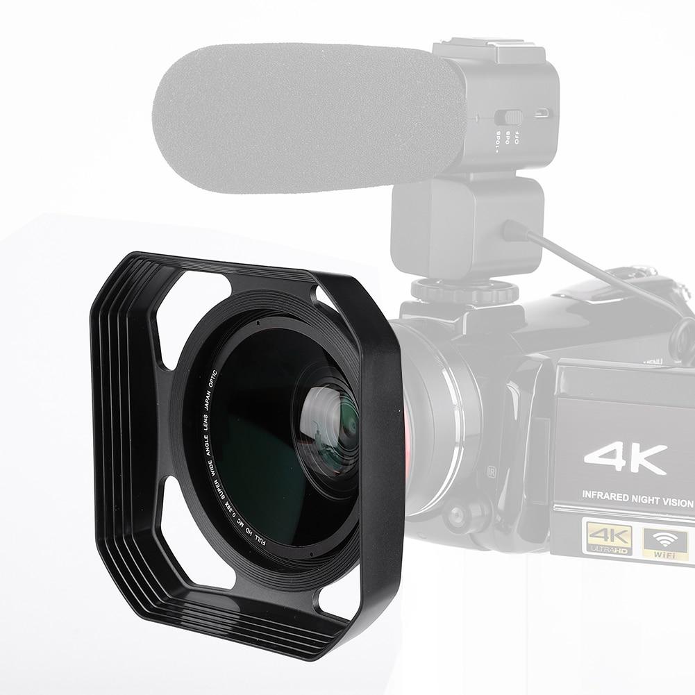55mm 49mm 39mm 46mm 52mm 40.5mm 43mm Practical Lens Hood Retro Style Camera Lens Hood Photo Lens Hood Camera Accessories 37mm 58mm