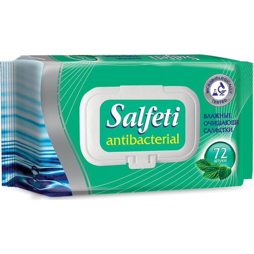 Салфетки влажные Антибактериальные Salfeti влажные (72 шт.)